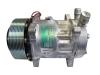 Sanden Compressor - 12v Polygroove